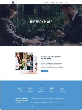Co-working space screenshot
